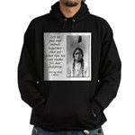 Sitting Bull Quote Hoodie (dark)