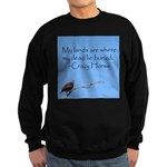 Crazy Horse Quote Sweatshirt (dark)