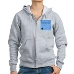 Crazy Horse Quote Women's Zip Hoodie