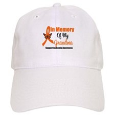Leukemia In Memory Grandma Baseball Cap