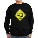 Opossum Crossing Sweatshirt (dark)