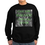 Help Idaho Wolves Sweatshirt (dark)