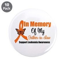 "Leukemia In Memory FIL 3.5"" Button (10 pack)"