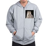 Great Horned Owl Zip Hoodie