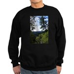 Eel River from the cliff Sweatshirt (dark)