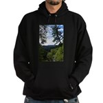 Eel River from the cliff Hoodie (dark)