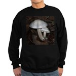 White Mushrooms Sweatshirt (dark)
