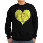 Hug your Kids Heart Sweatshirt (dark)