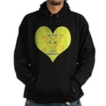 Hug your Kids Heart Hoodie (dark)