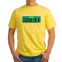 iBhangra Yellow T-Shirt
