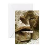 Face in the Rock Greeting Card