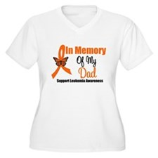 Leukemia In Memory Dad T-Shirt