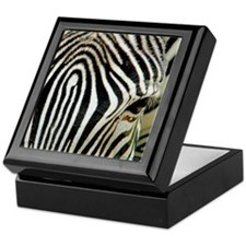 Zebra Eye Keepsake Box