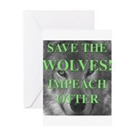 Help Idaho Wolves Greeting Card