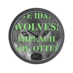 Save Idaho Wolves Wall Clock