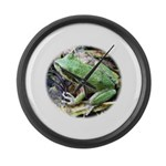 Pacific Chorus Frog Treefrog Large Wall Clock