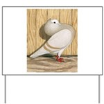 Khaki Mookee Pigeon Yard Sign