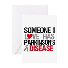Parkinson'sDiseaseLove Greeting Cards (Pk of 10)
