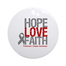 Parkinson'sDiseaseHope Ornament (Round)