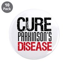 "CureParkinson's 3.5"" Button (10 pack)"