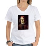 Young Man Women's V-Neck T-Shirt
