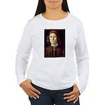 Young Man Women's Long Sleeve T-Shirt