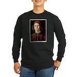 Young Man Long Sleeve Dark T-Shirt