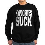 Hypocrites Suck Sweatshirt (dark)