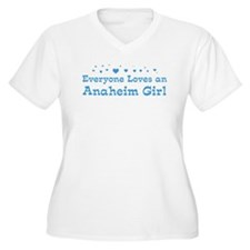 Loves Anaheim Girl T-Shirt