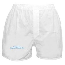 Loves Cayman Islands Girl Boxer Shorts
