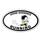 Zack Long Distance Oval Decal