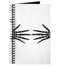 skeleton hands Journal