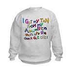 I Got My Tan - Abuelita Kids Sweatshirt