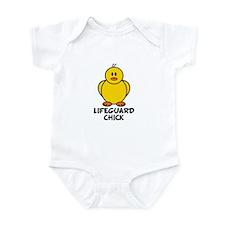 Lifeguard Chick Infant Bodysuit