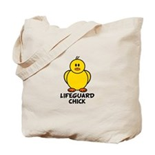 Lifeguard Chick Tote Bag
