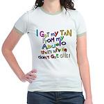 I got my Tan - Abuelo (Grandd Jr. Ringer T-Shirt