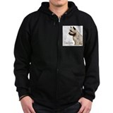Cairn Profile Breed Name Zip Hoodie