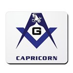 Masonic Capricorn Sign Mousepad