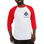 Masonic Capricorn Sign Baseball Jersey