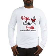 Parkinson'sHopeLoveFaith Long Sleeve T-Shirt