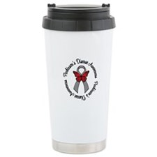 Parkinson'sAwareness Ceramic Travel Mug