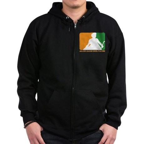 Major League Dhol Players Zip Hoodie (dark)