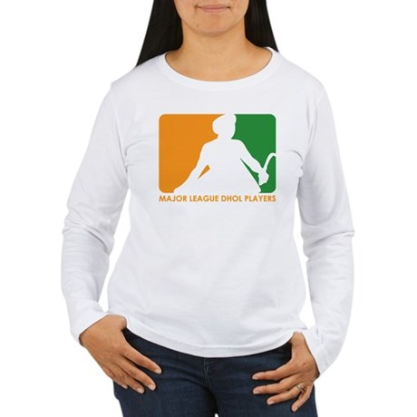 Major League Dhol Players Women's Long Sleeve T-Sh