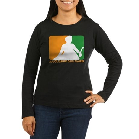 Major League Dhol Players Women's Long Sleeve Dark