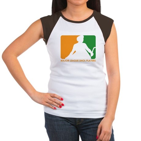 Major League Dhol Players Women's Cap Sleeve T-Shi