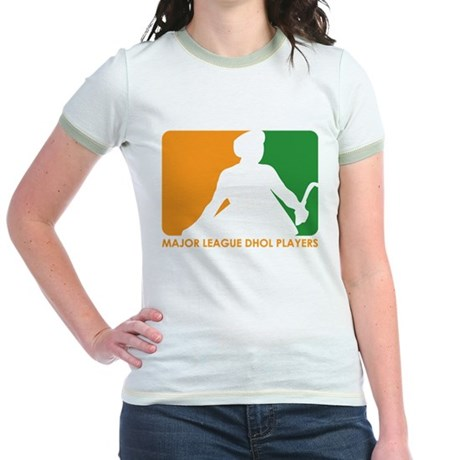 Major League Dhol Players Jr. Ringer T-Shirt