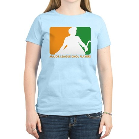 Major League Dhol Players Women's Light T-Shirt