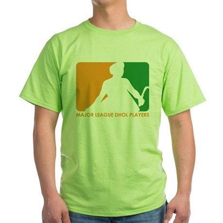 Major League Dhol Players Green T-Shirt