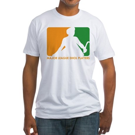 Major League Dhol Players Fitted T-Shirt
