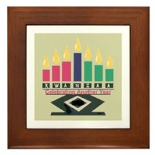 Kwanzaa Framed Tile